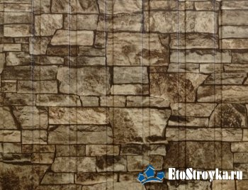 Профнастил под камень: цена, преимущества и применение