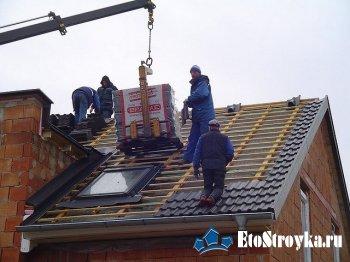 Как крепить на крыше профнастил